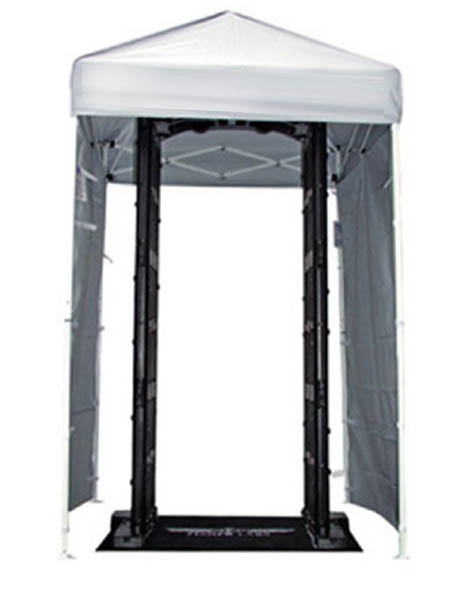 Prenosiva vrata metal detektor