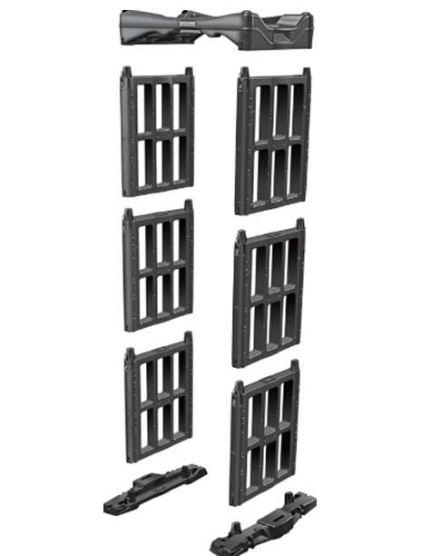 rasklopiva vrata metal detektor 1