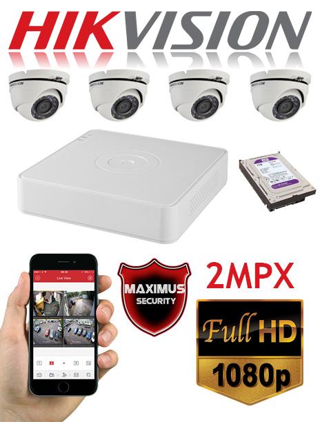 video nadzor 2mpx 4 kamere