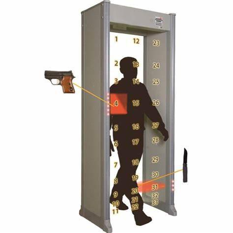 vrata metal detektor