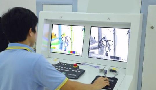 rengen uredja za skeniranje velikih paleta